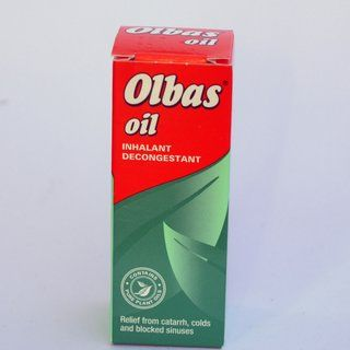 Olbas Oil Inhalant Decongestant Natural Remedies