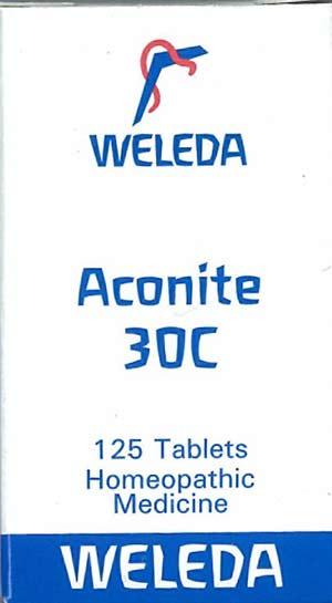 Homeopathic medicine aconite-30